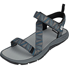 Columbia Wave Train Sandalen Heren, graphite/white